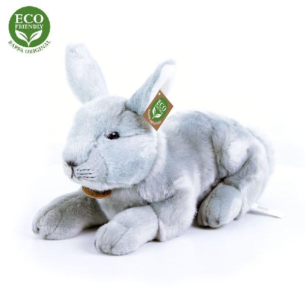 Plyšový králík ležící 33 cm ECO-FRIENDLY