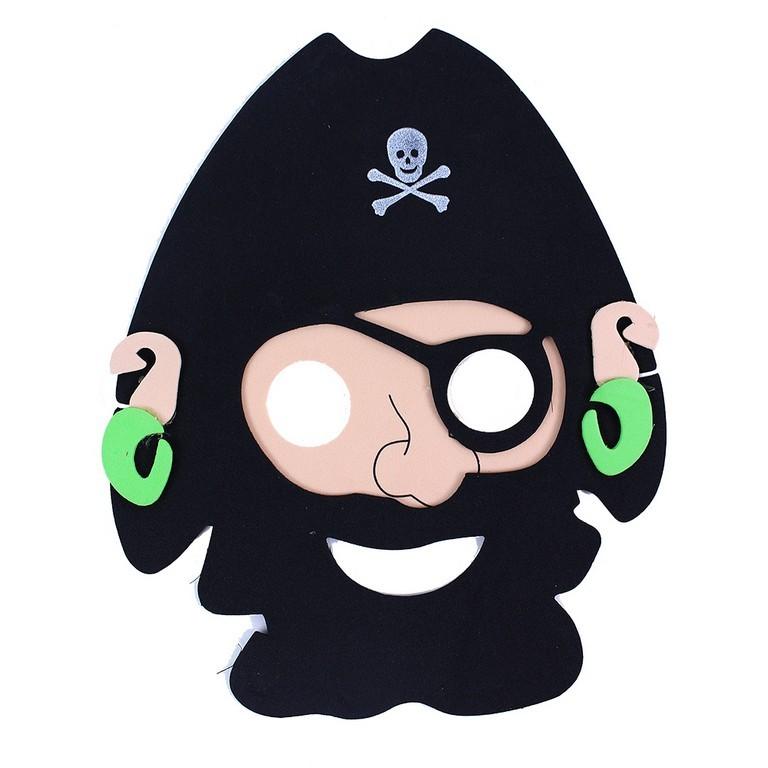 Maska pirátská 2 ks