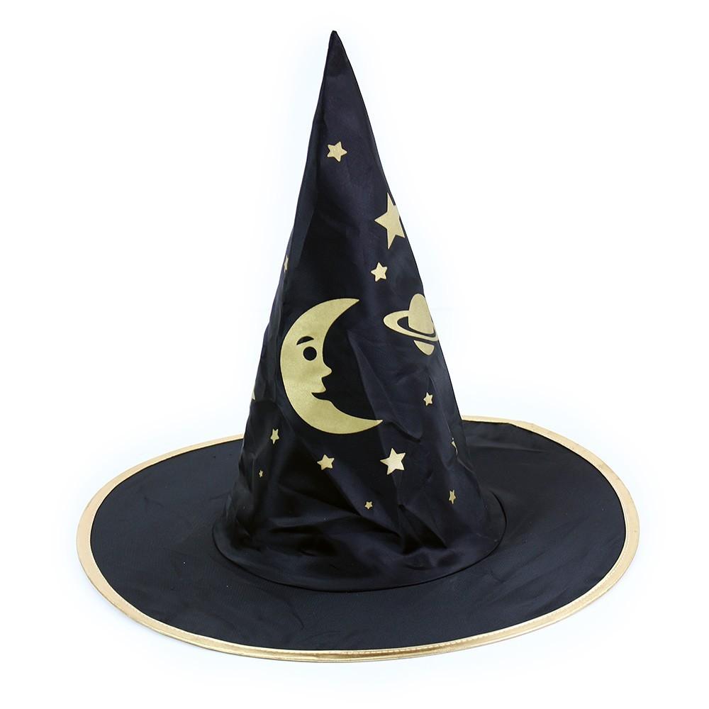 Dětský klobouk Čaroděj Halloween