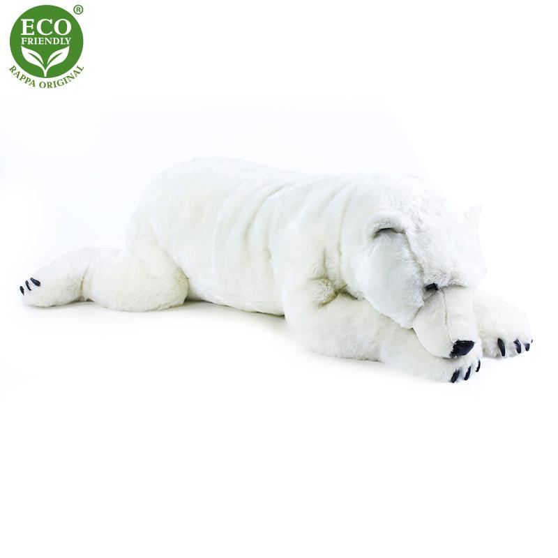 Plyšový velký lední medvěd ležící 109 cm ECO-FRIEN