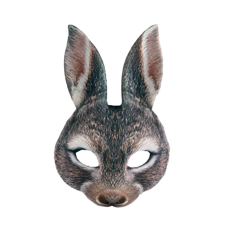Maska zajíc hnědý