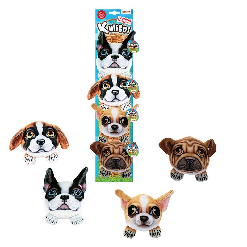 Kulíšci - plyšoví psi 9 cm