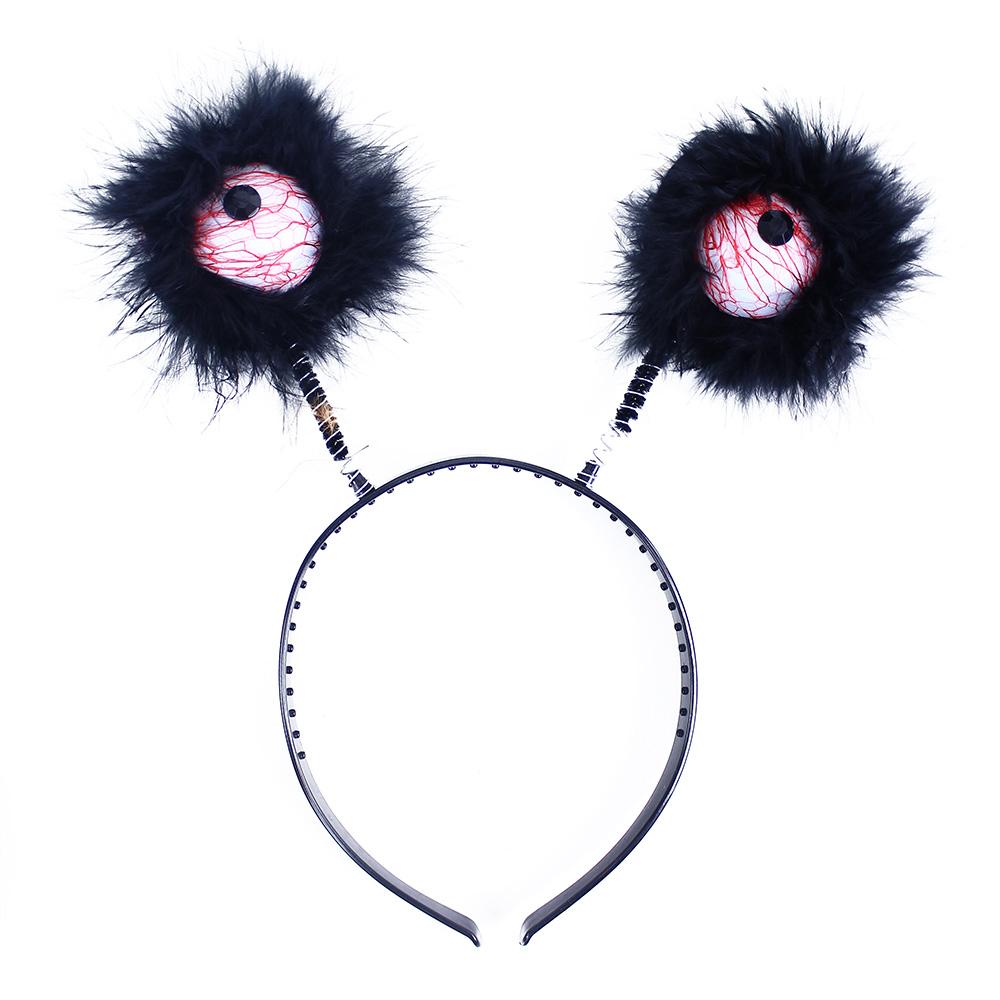 Čelenka tykadla čarodějnice/Halloween 2 druhy