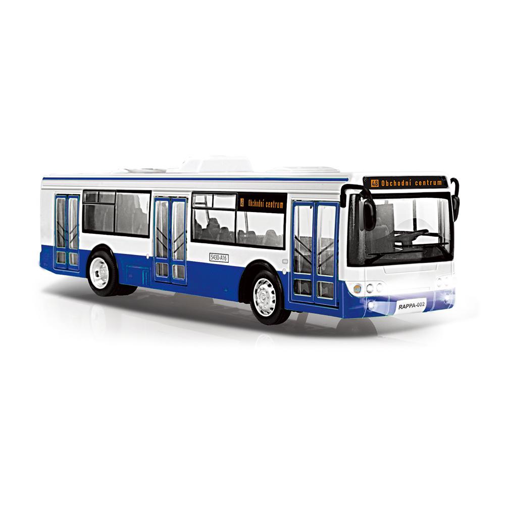 Autobus který hlásí zastávky česky 28 cm