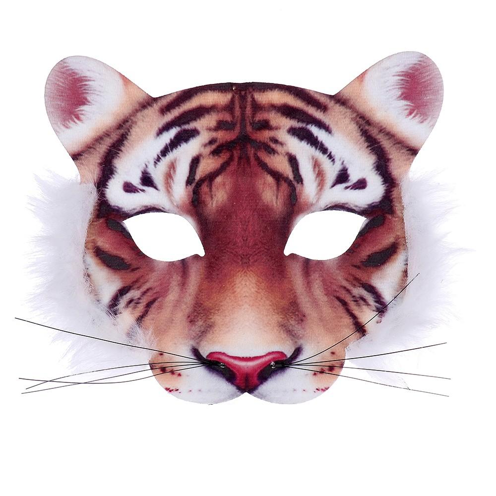 Maska tygr dětská