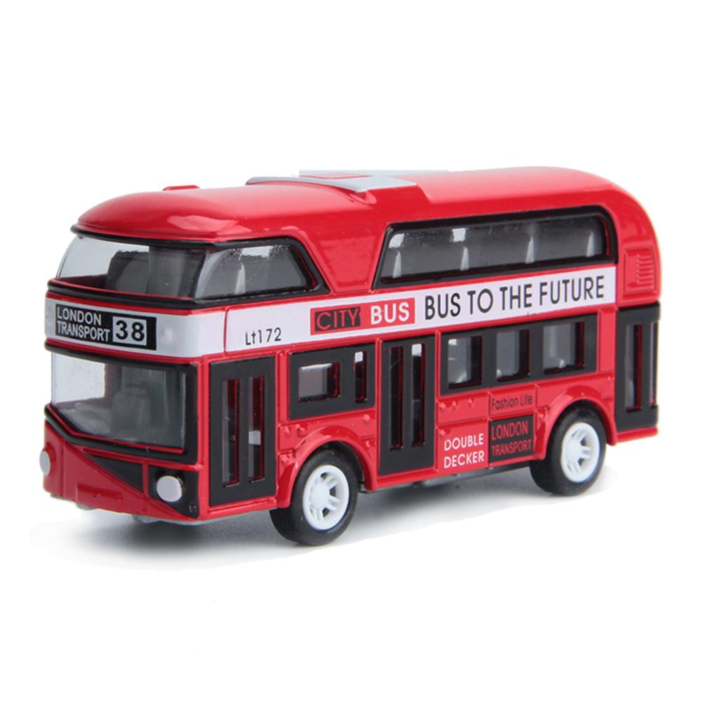 Autobus londýnský dvoupatrový červený