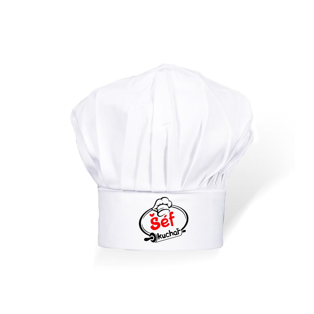 Čepice kuchař dětská