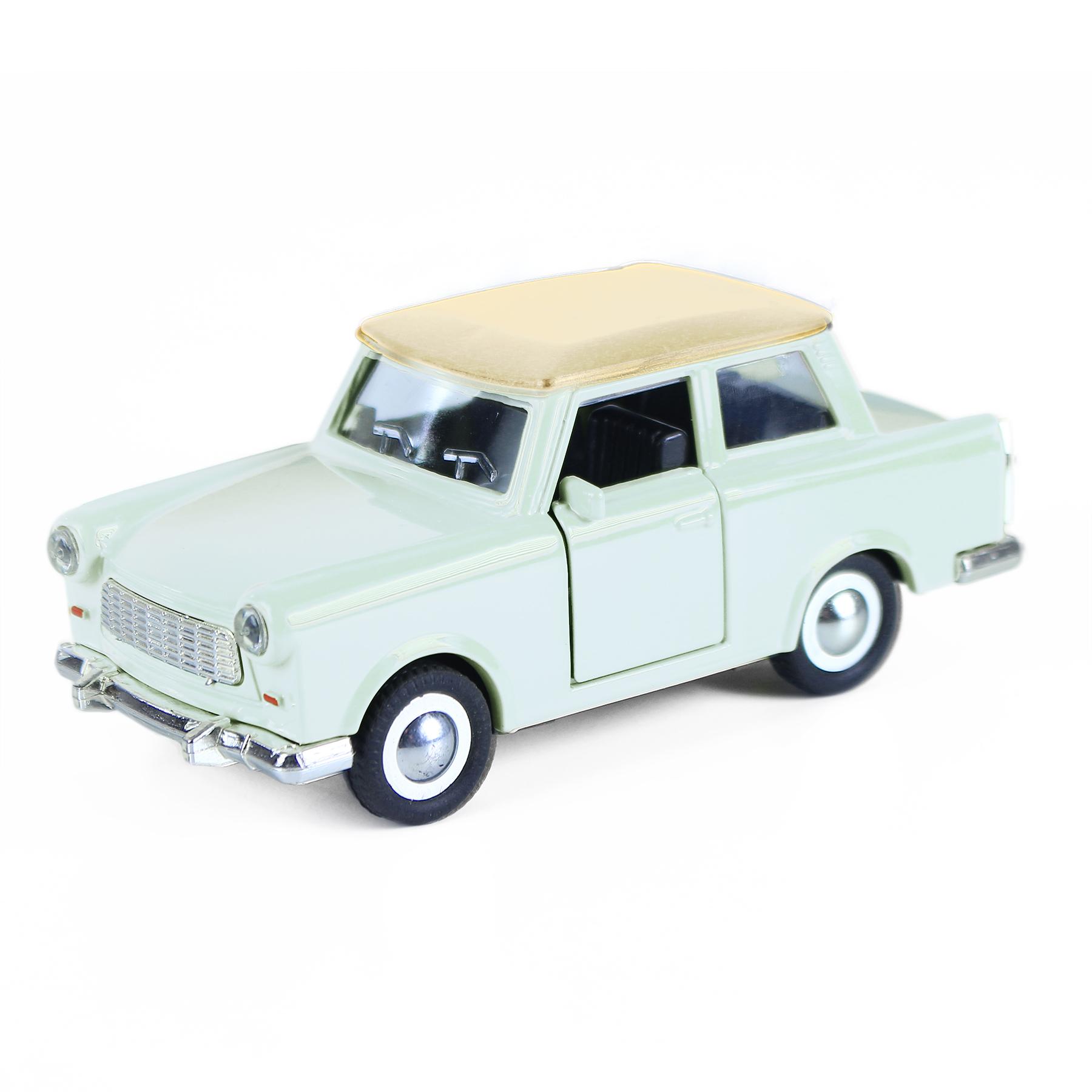Auto kov/plast retro - Trabant