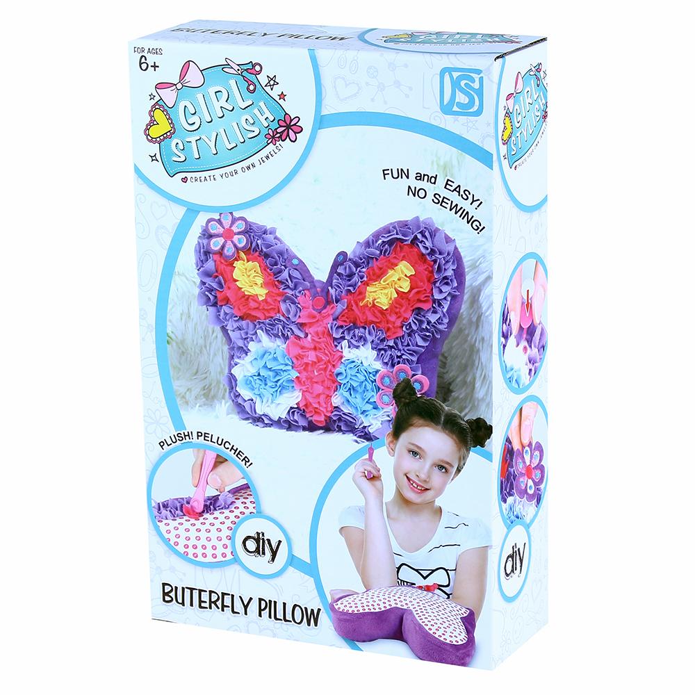 Kreativní polštář motýl
