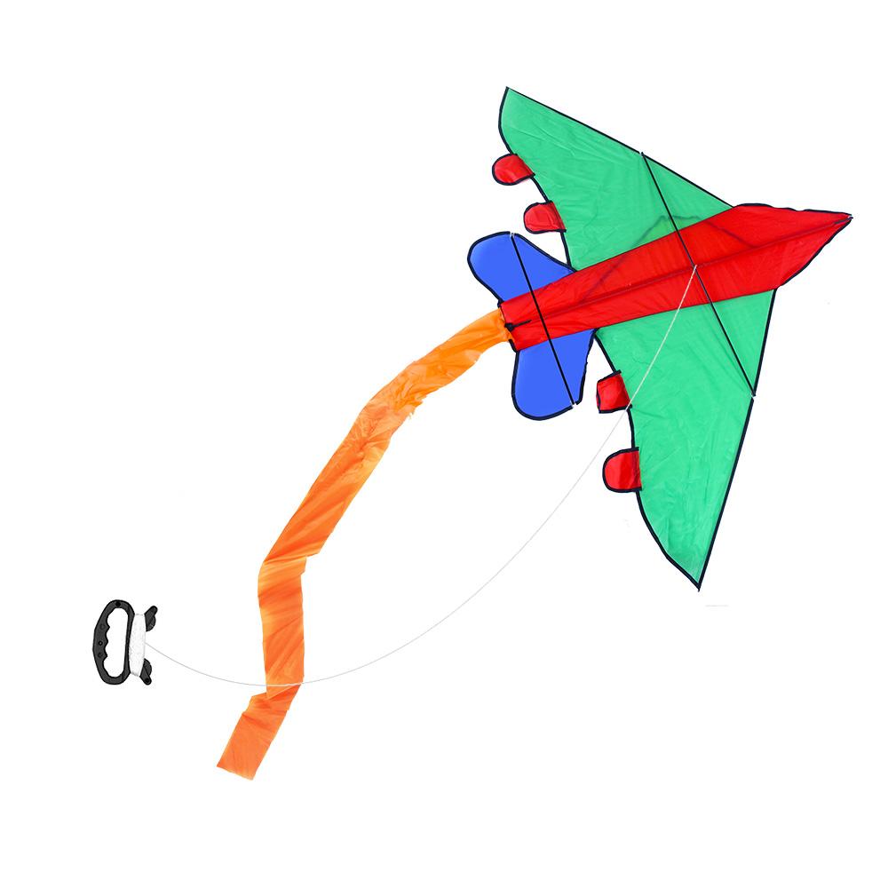 Létající drak letadlo nylonový 140x98 cm
