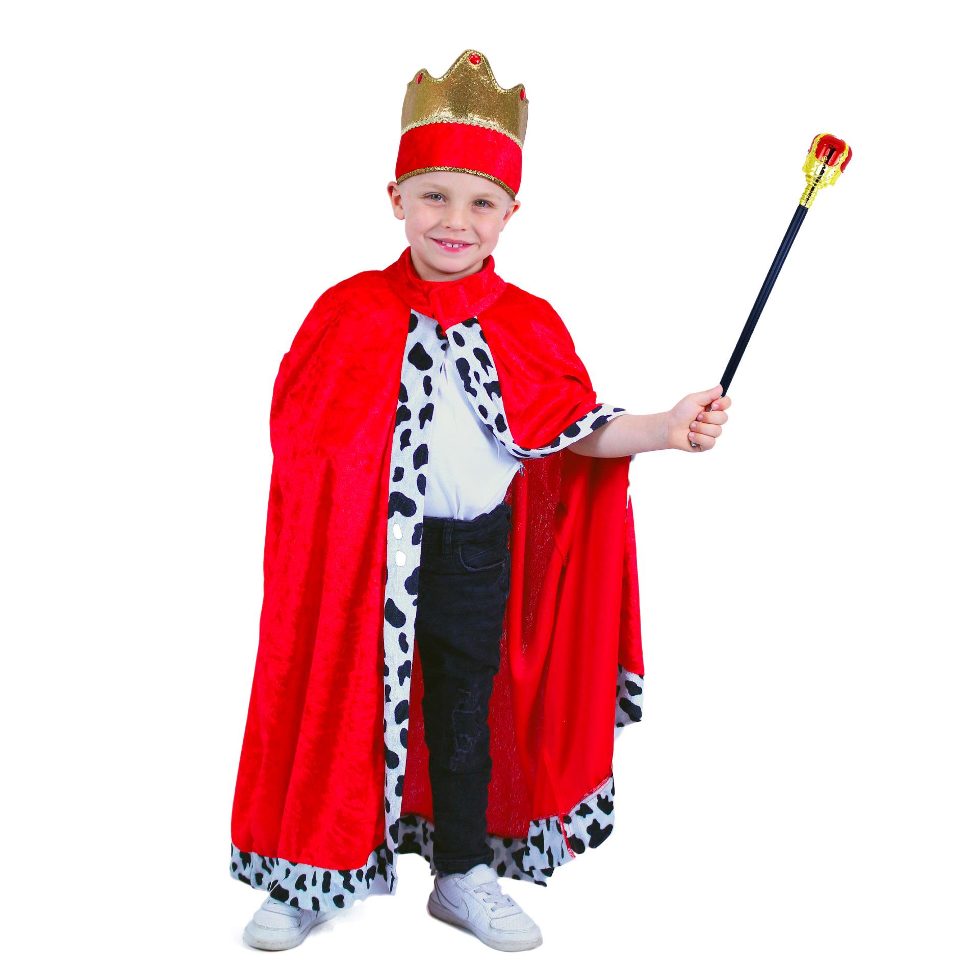 Dětský kostým královský plášť