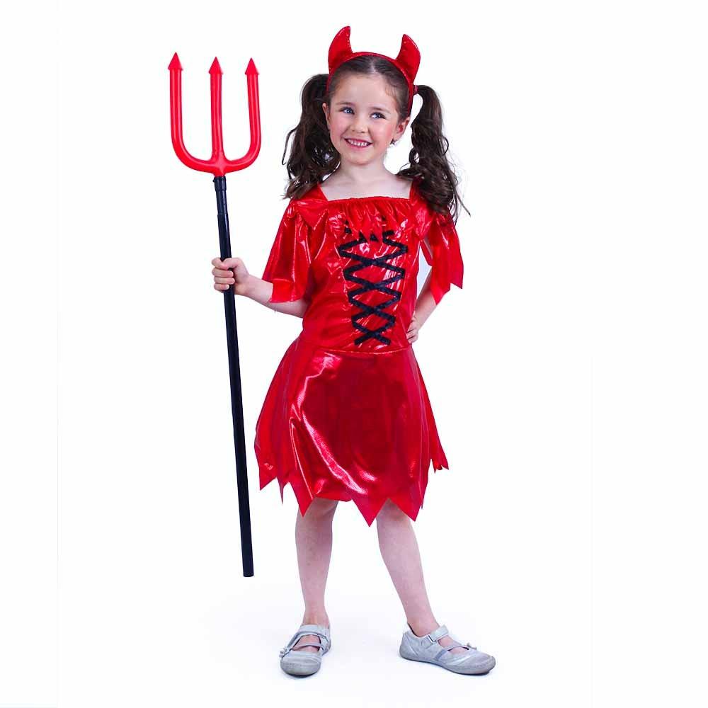 Dětský kostým čertice (M)