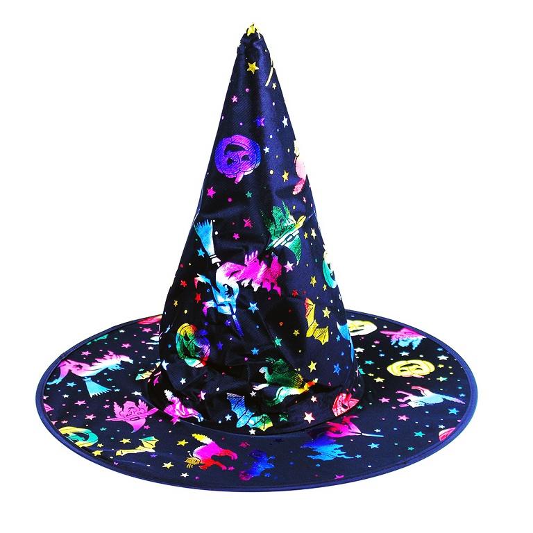 Klobouk čarodějnice/Halloween pro dospělé