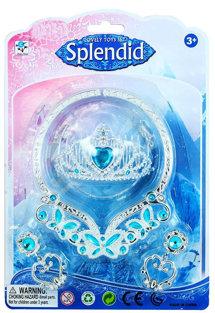 Sada náhrdelník zimní království