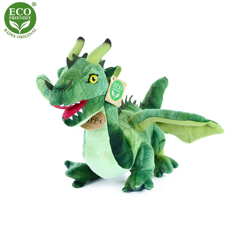 Plyšový drak 40 cm ECO-FRIENDLY