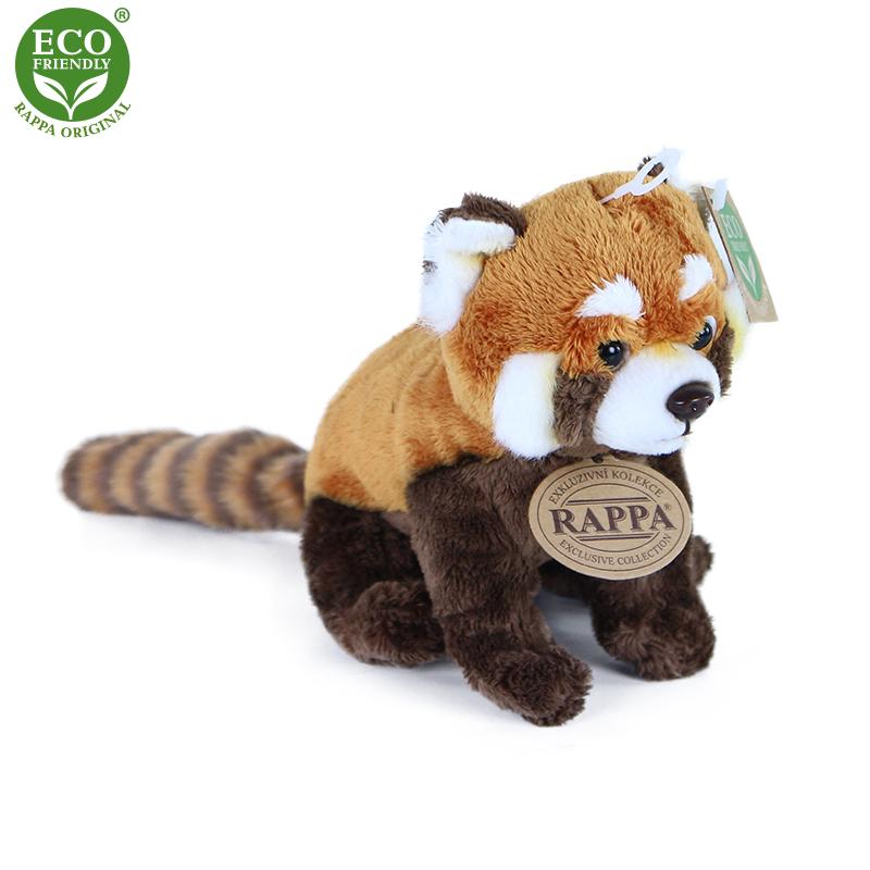 Plyšová panda červená 18 cm ECO-FRIENDLY