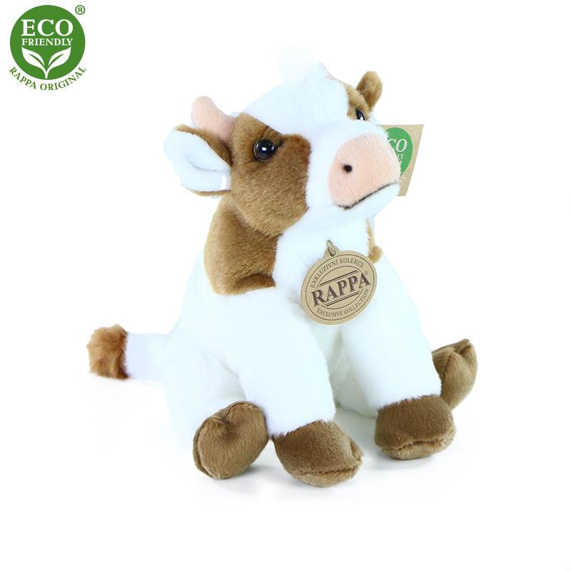 Plyšová kráva 18 cm ECO-FRIENDLY