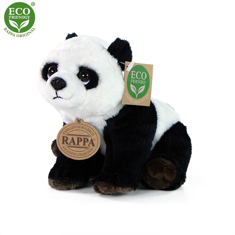 Plyšová panda 18 cm ECO-FRIENDLY