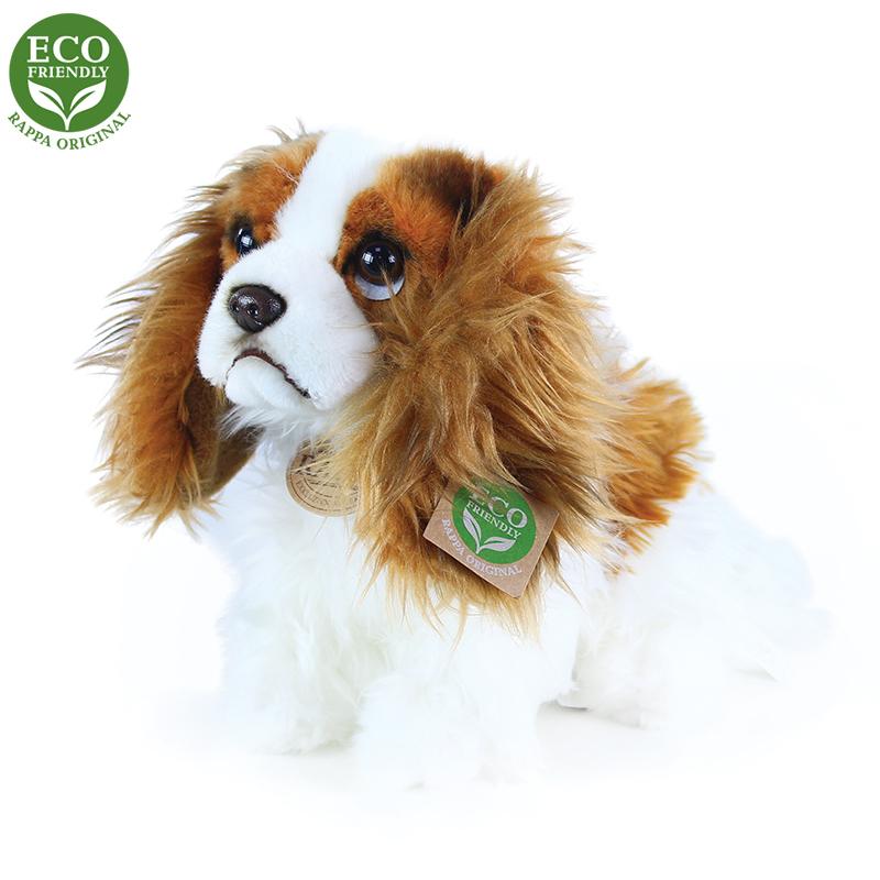 Plyšový pes king charles španěl 25 cm ECO-FRIENDLY