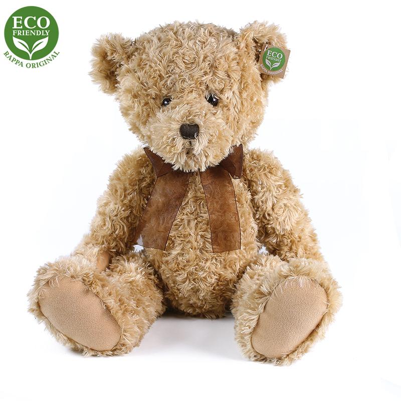 Plyšový medvěd Retro sedící 35 cm ECO-FRIENDLY
