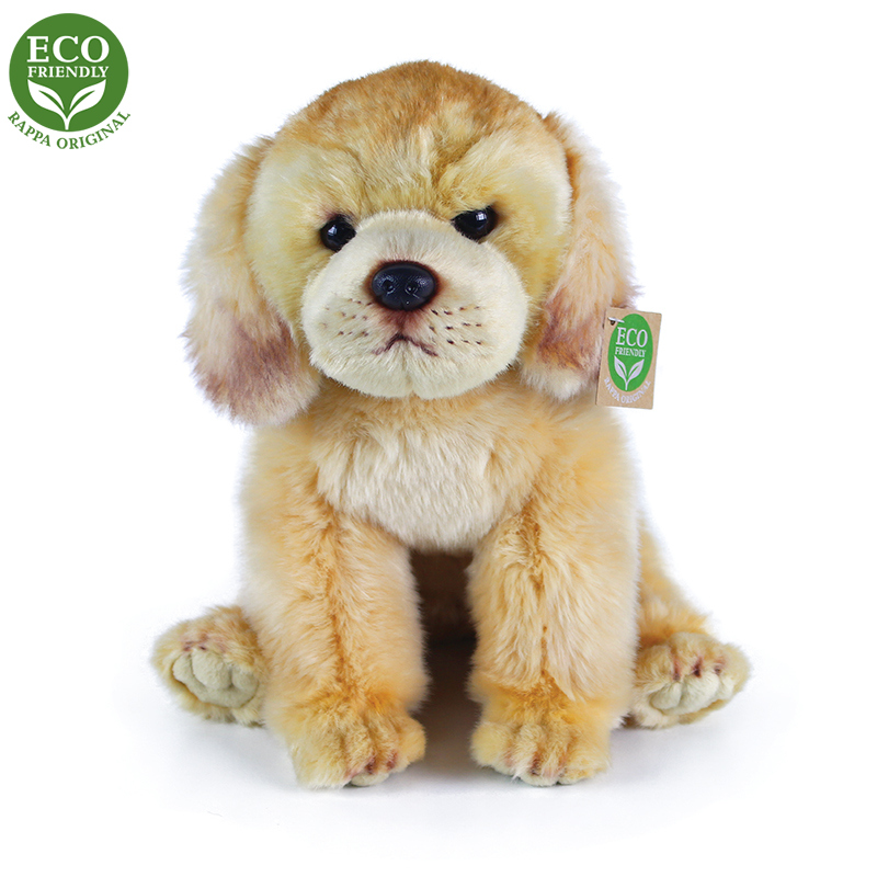 Plyšový labrador sedící 27 cm ECO-FRIENDLY