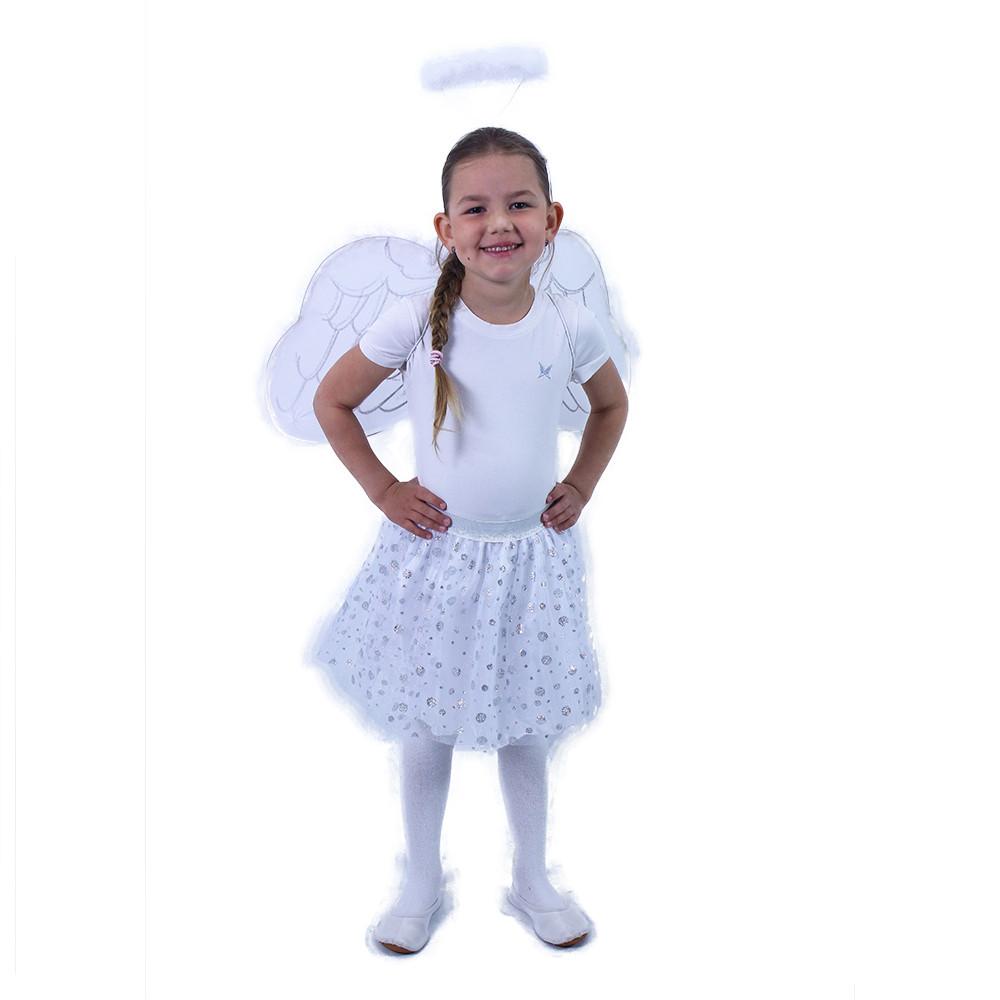 Dětský kostým tutu sukně anděl