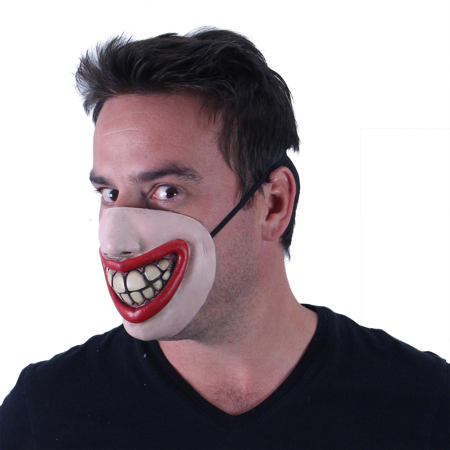 Maska pro dospělé úsměv