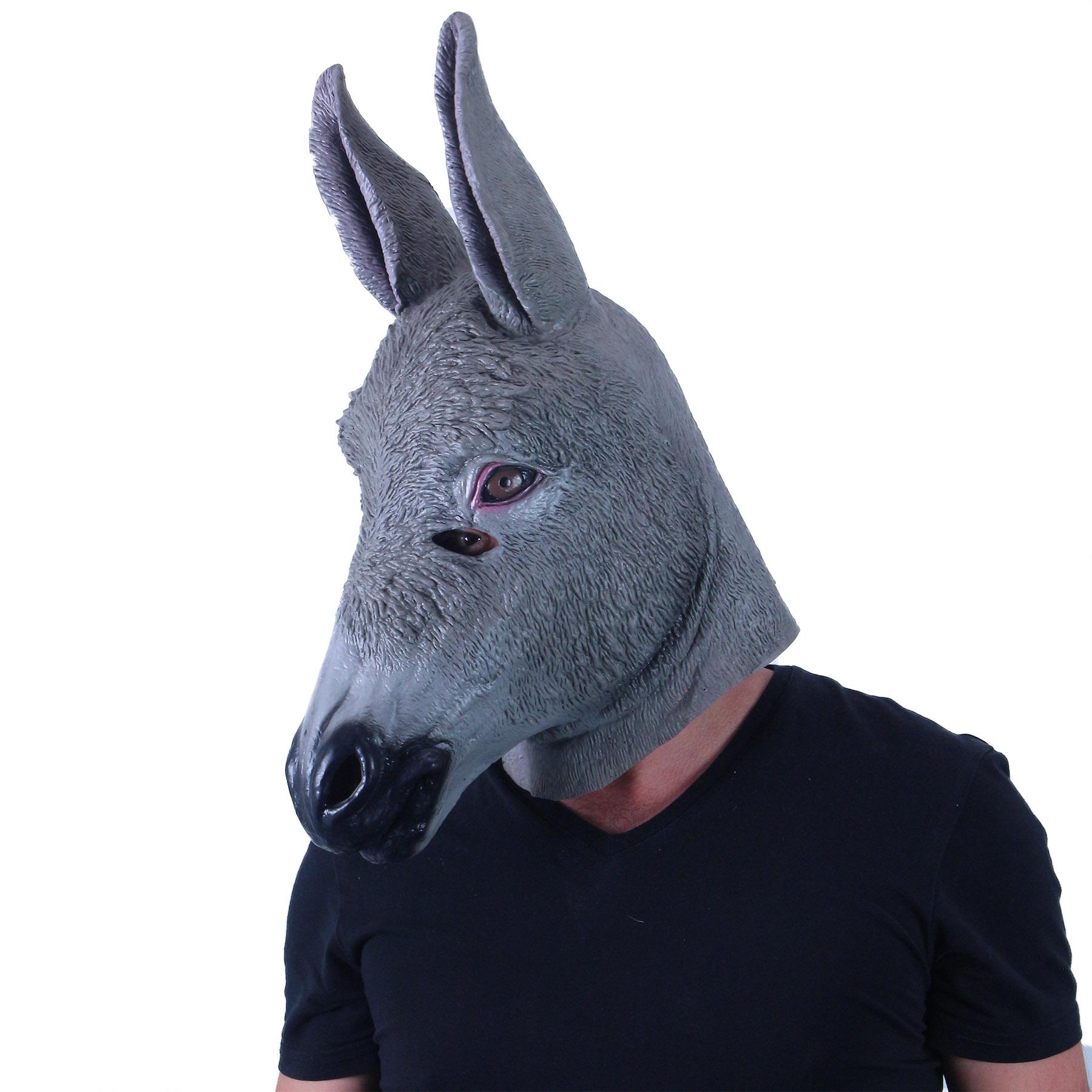 Maska pro dospělé osel