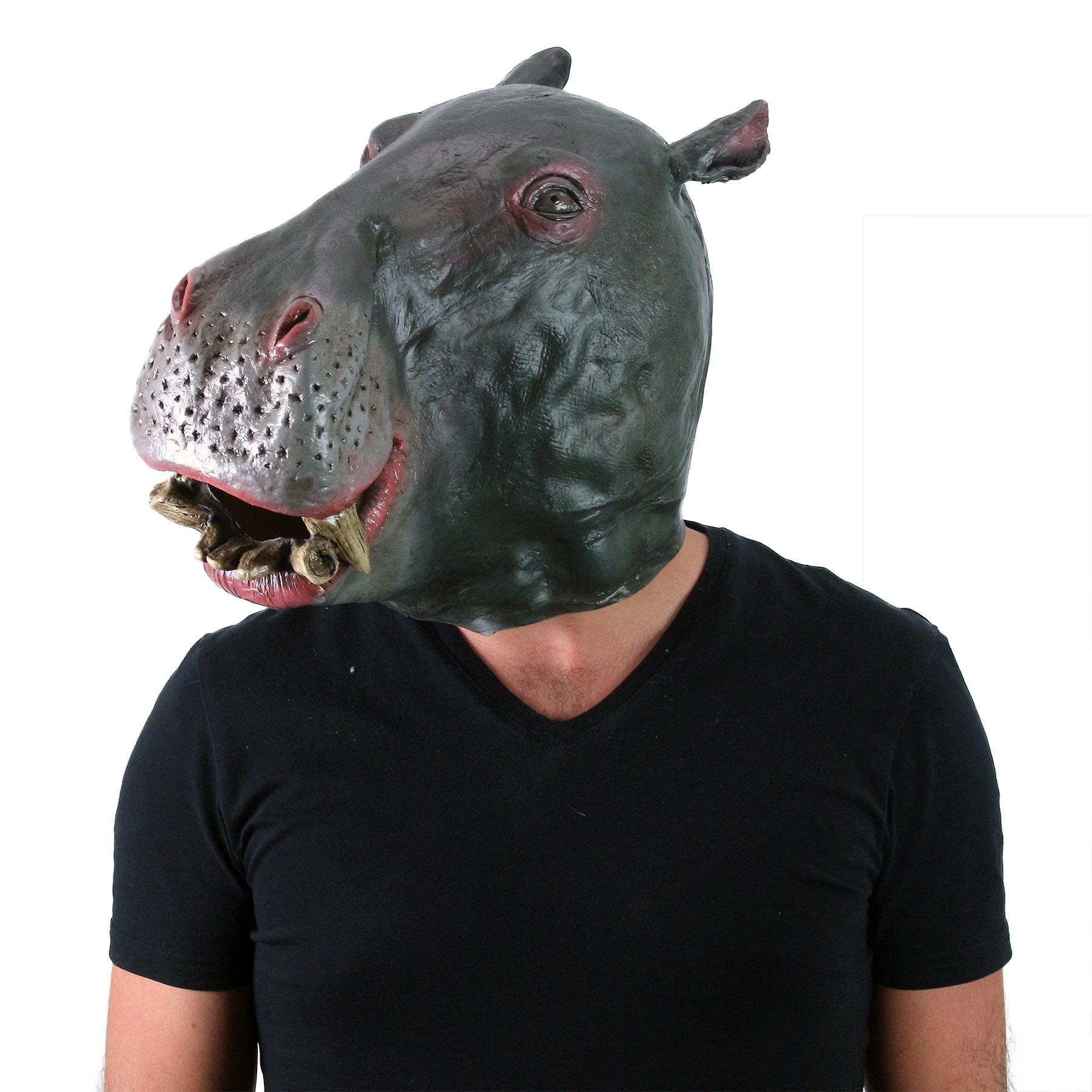 Maska pro dospělé hroch
