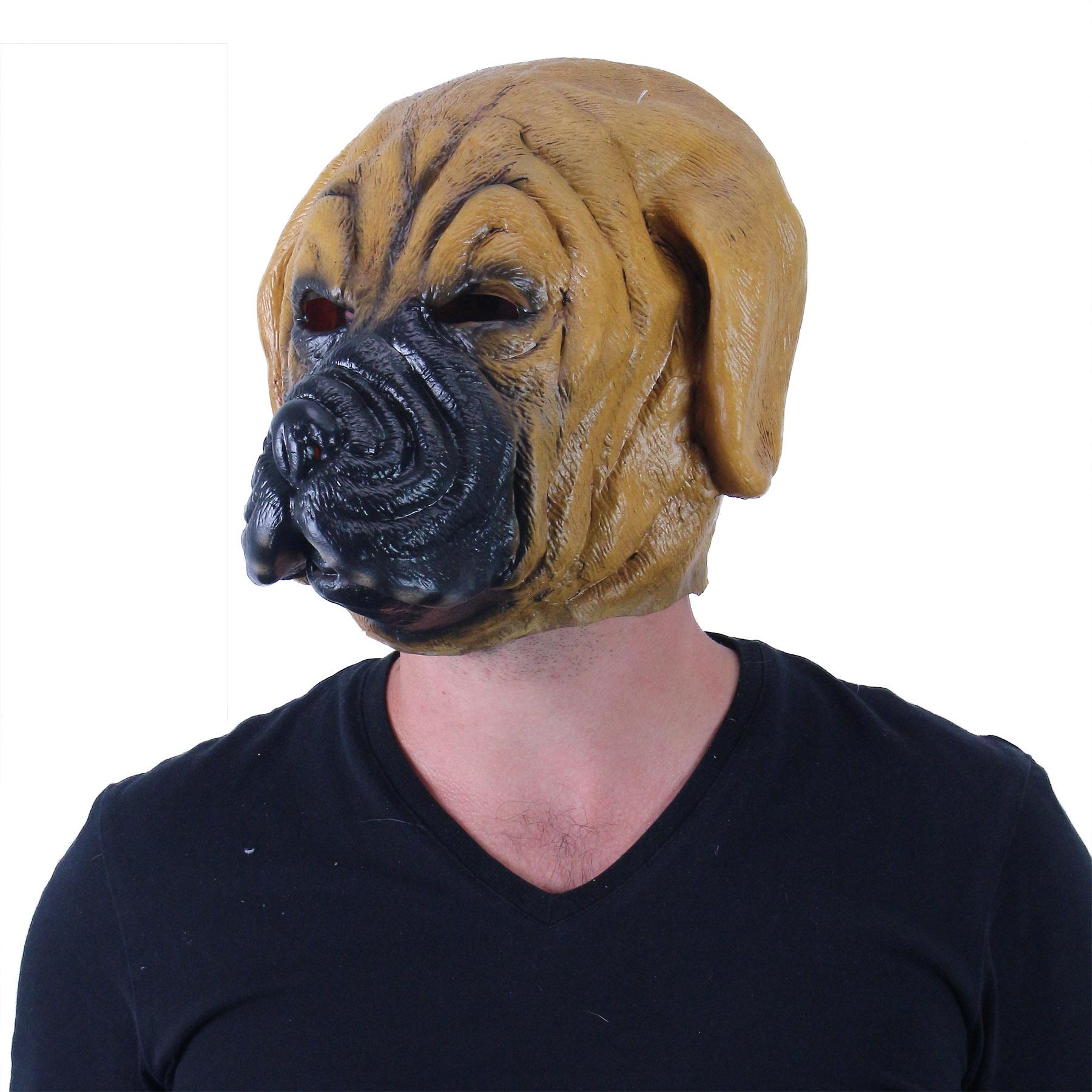 Maska pro dospělé pes