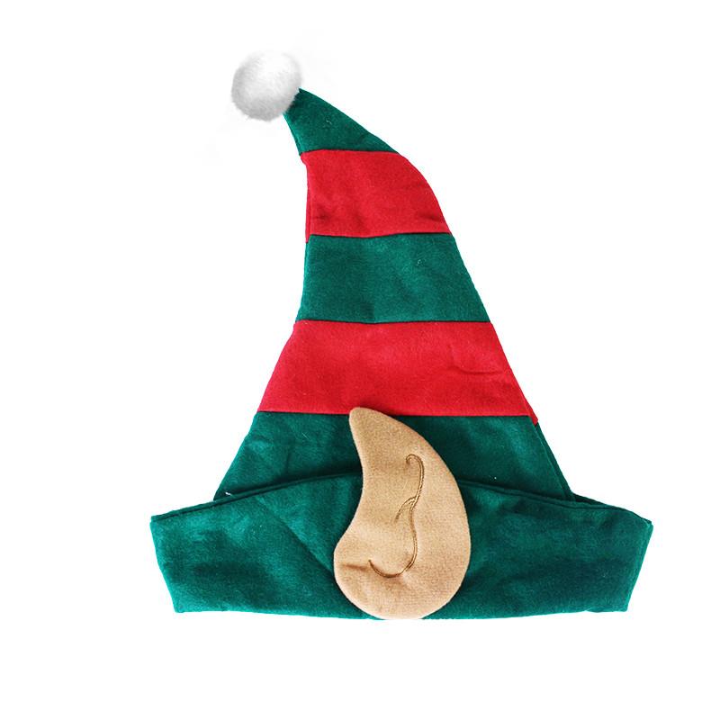 Vánoční čepice Elf pro dospělé