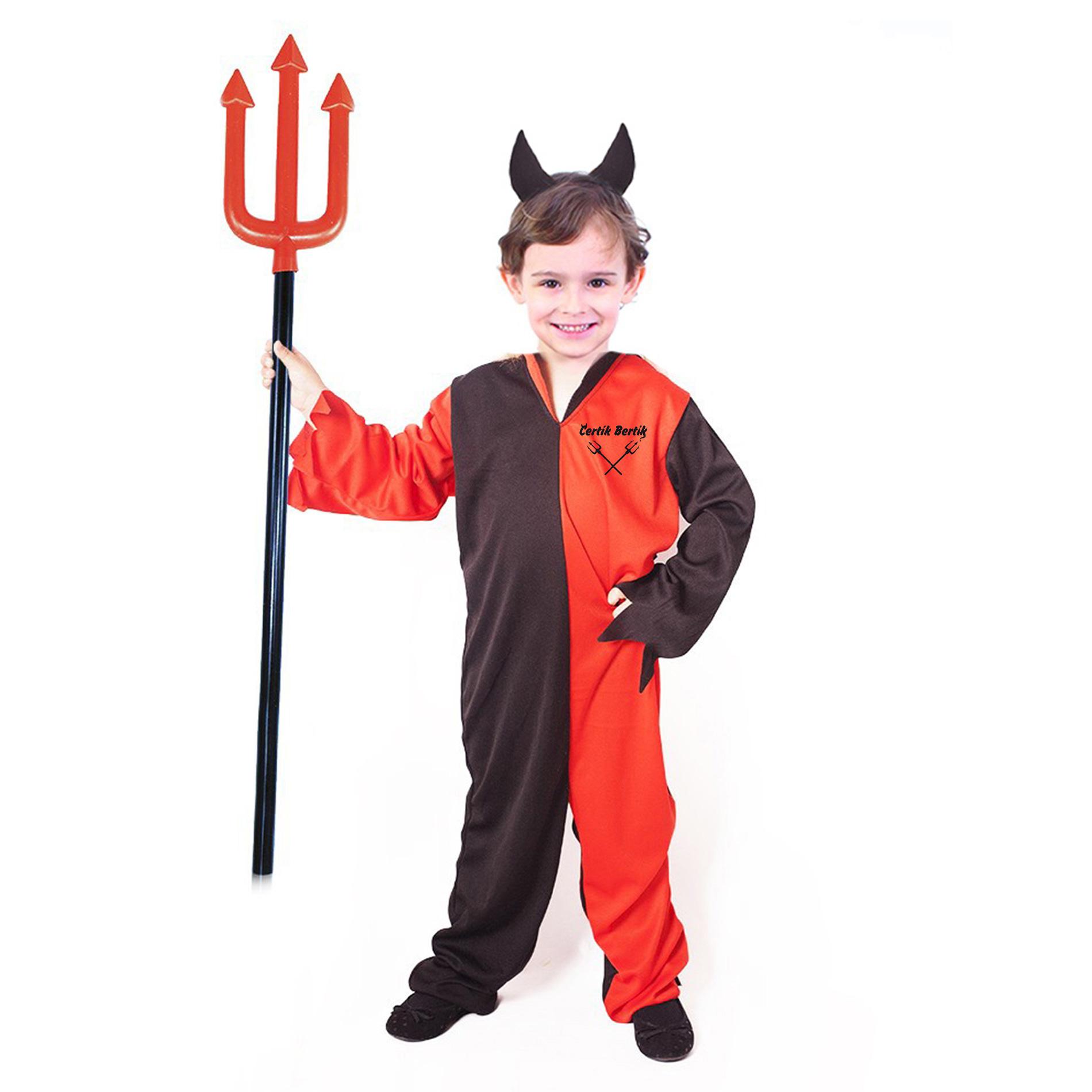 Dětský kostým čert s čelenkou (S) e-obal