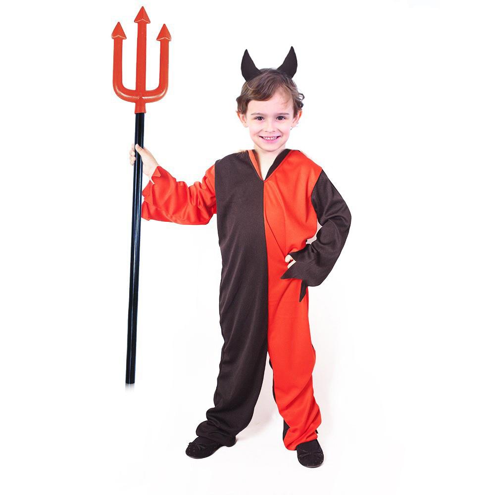 Dětský kostým čert s čelenkou (M) e-obal