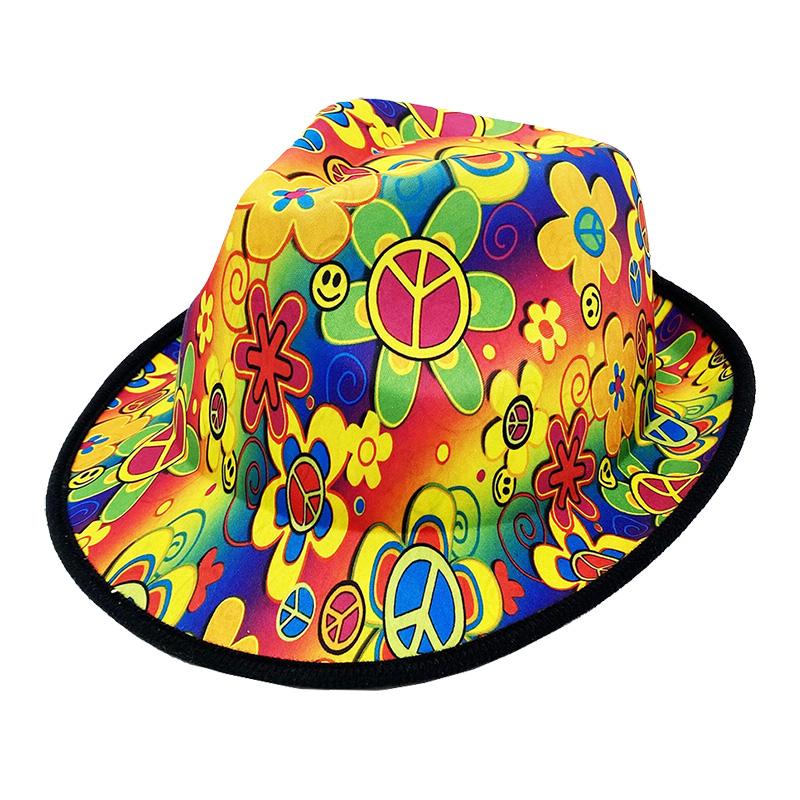 klobouk hippie dospělý