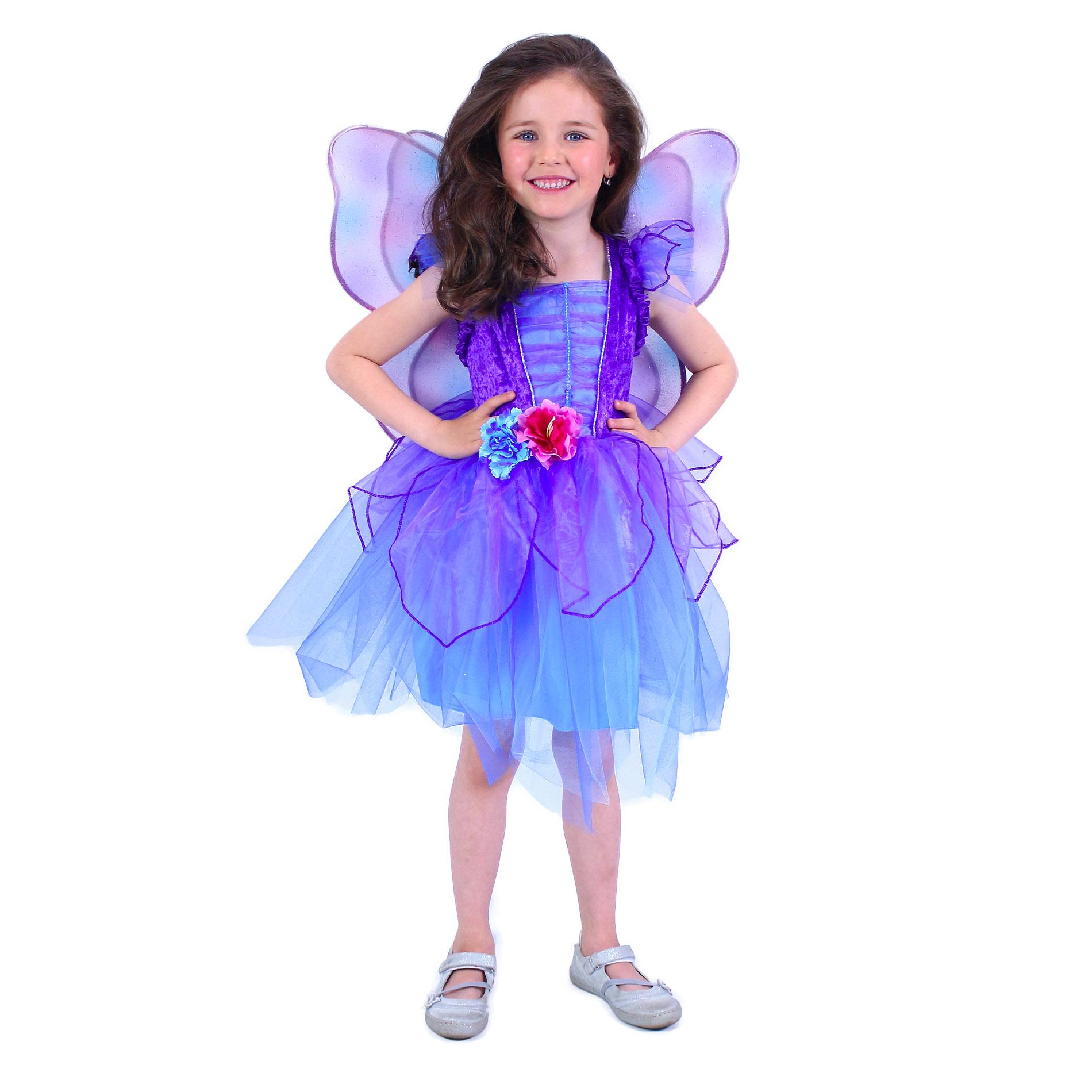 Dětský kostým fialová víla (S) e-obal