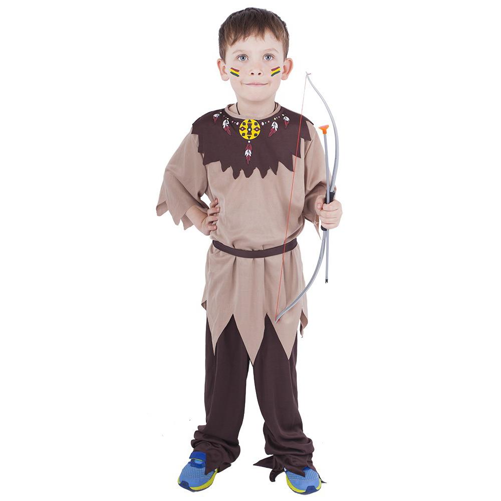 Dětský kostým indián s páskem (M) e-obal