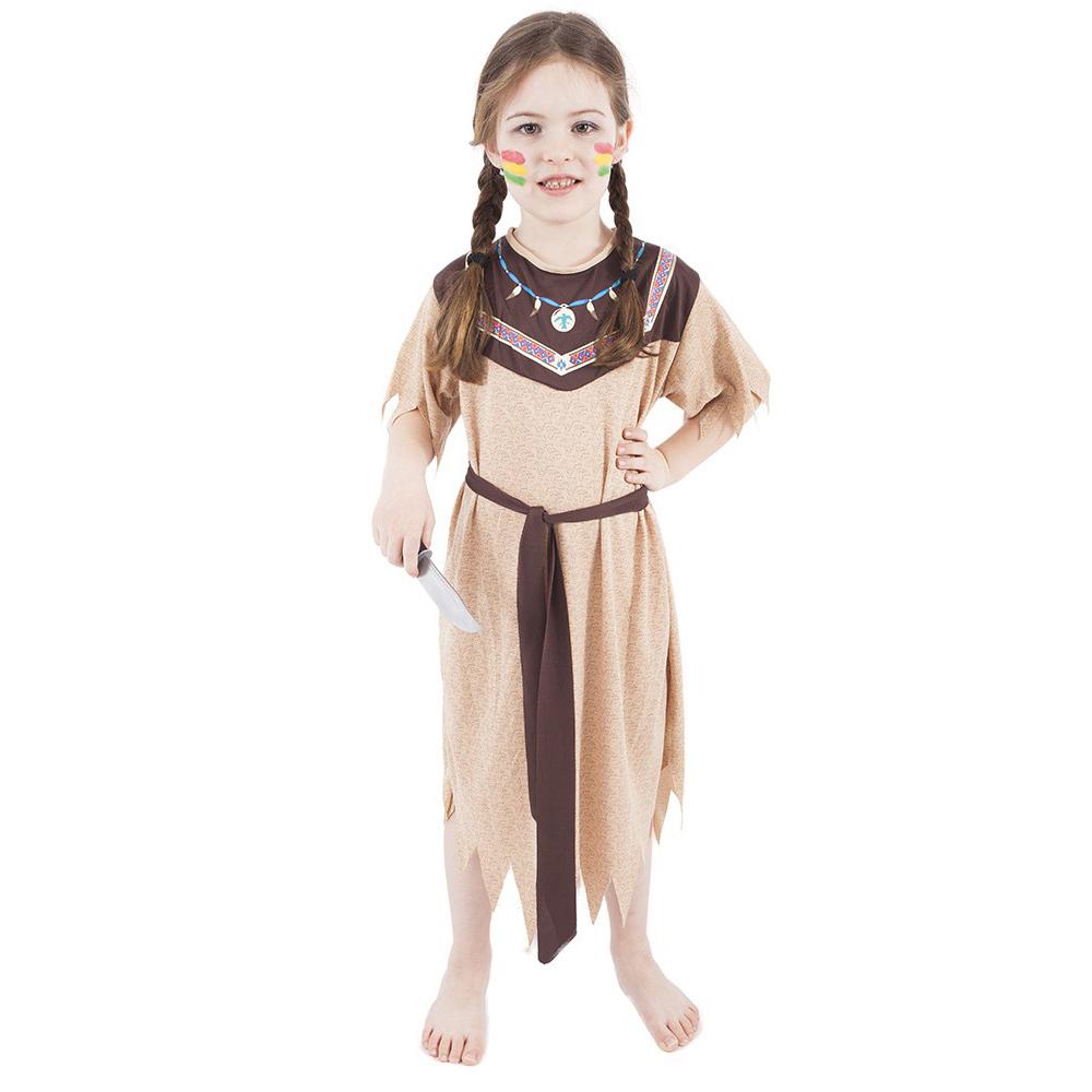 Dětský kostým indiánka s páskem (M) e-obal