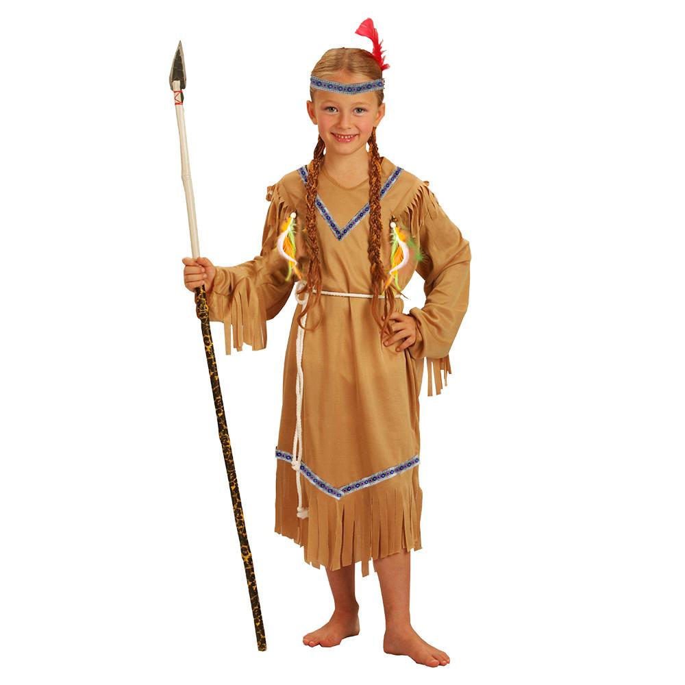 Dětský kostým indiánka s čelenkou (M) e-obal