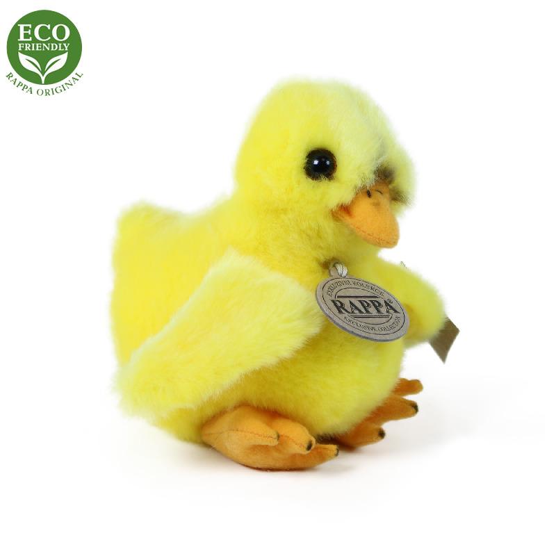 Plyšové kuře stojící 14 cm ECO-FRIENDLY