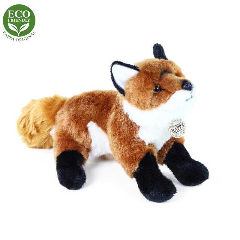 Plyšová liška stojící 30 cm ECO-FRIENDLY