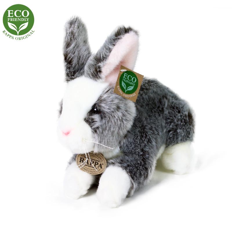 Plyšový králík ležící 23 cm ECO-FRIENDLY