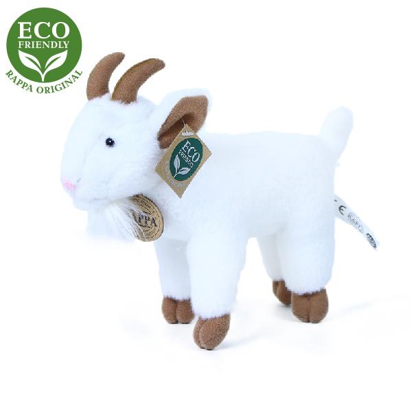 Plyšová koza stojící 20 cm ECO-FRIENDLY