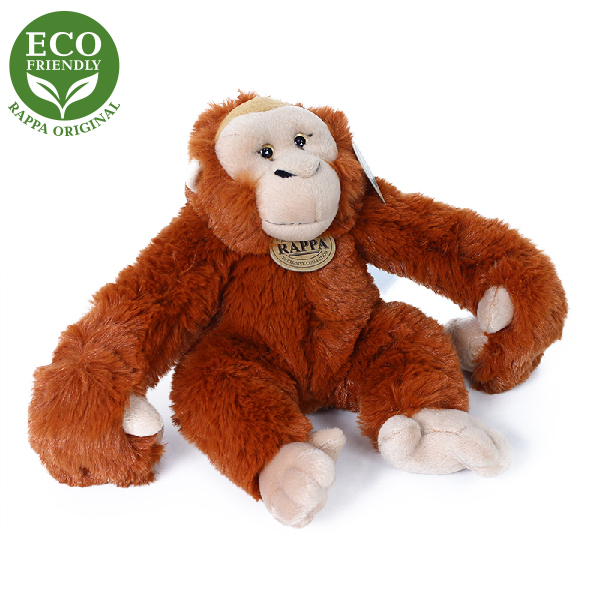 Plyšový orangutan / opice závěsný 20 cm ECO-FRIEND