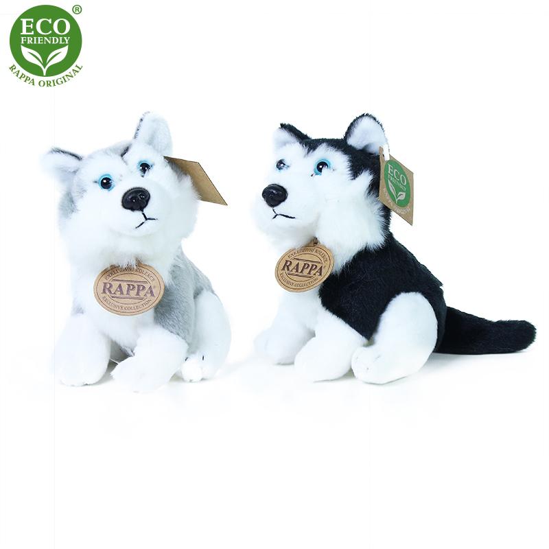 Plyšový pes husky 16 cm ECO-FRIENDLY