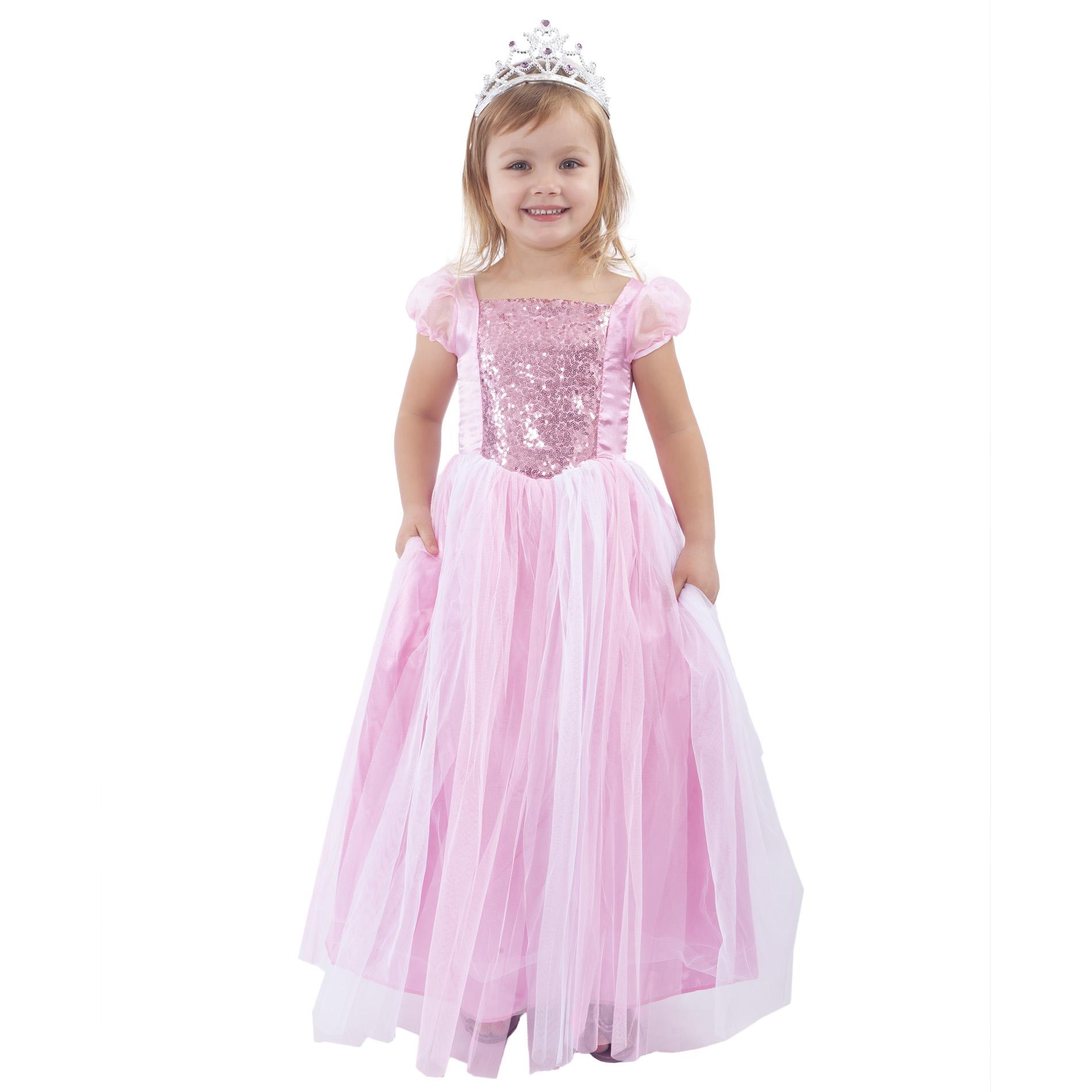 Dětský kostým růžová princezna (S)
