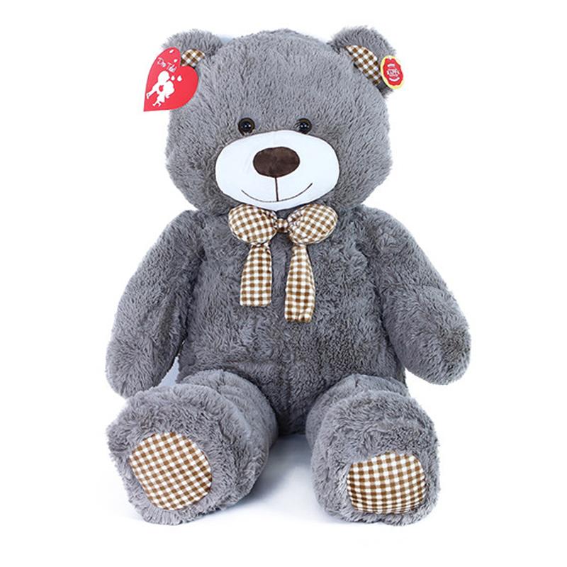 Velký plyšový medvěd Miki s visačkou 110 cm
