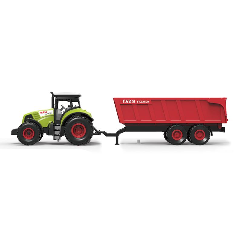 Traktor plastový se zvukem a světlem s červenou vl