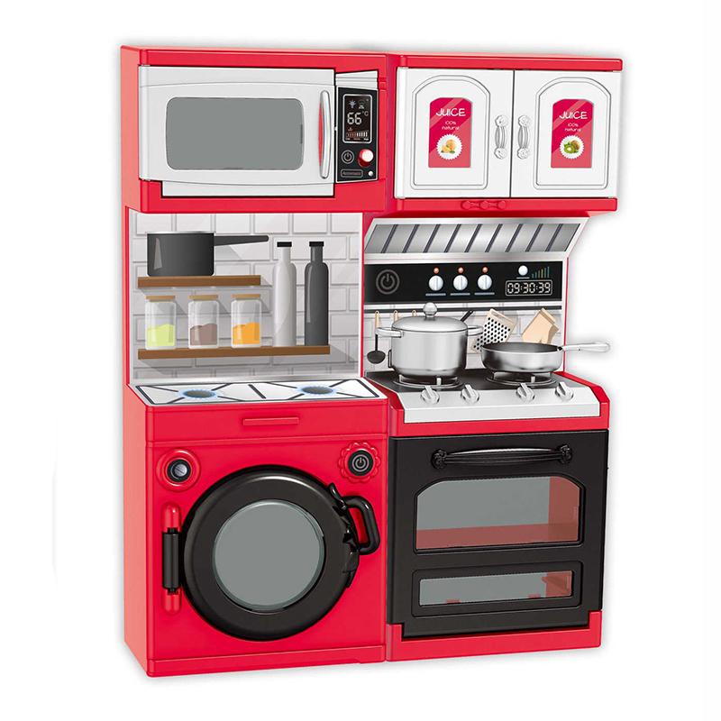Sada mini kuchyň s pračkou