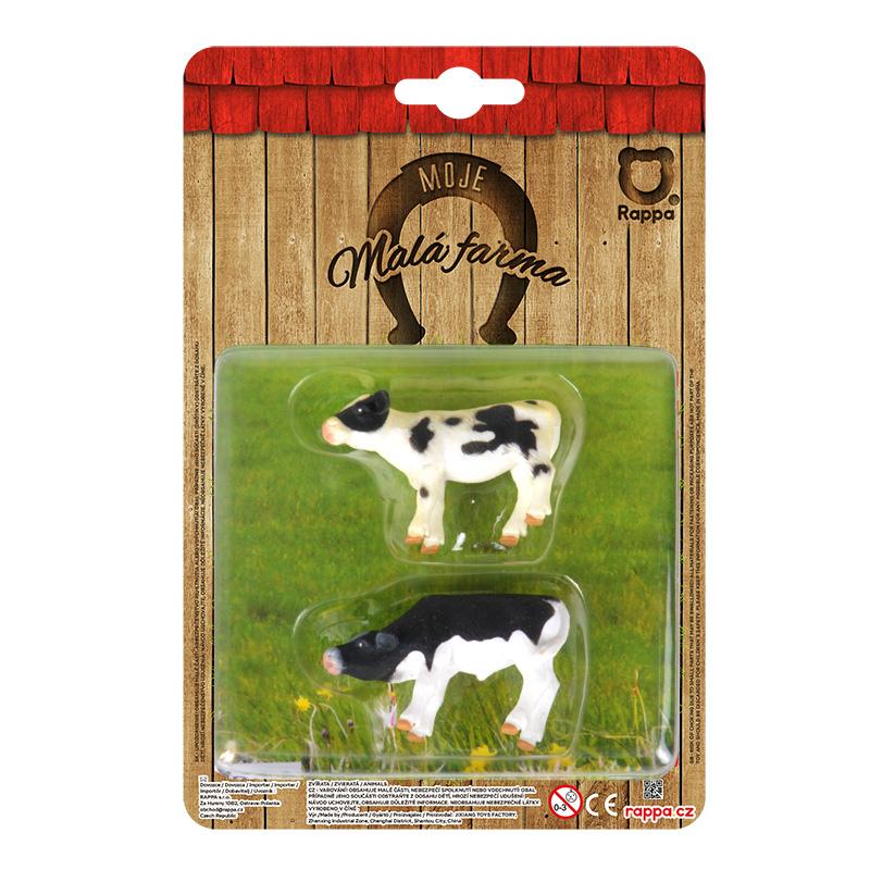 Zvířata na farmě - 2 v 1 krávy