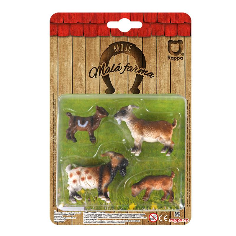 Zvířata na farmě 4 v 1 - kozy